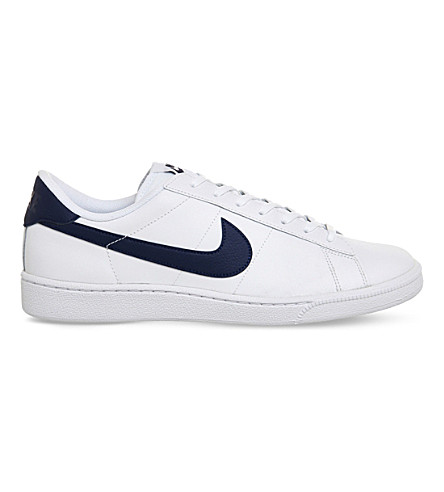 NIKE Tennis classic leather sneakers (White navy