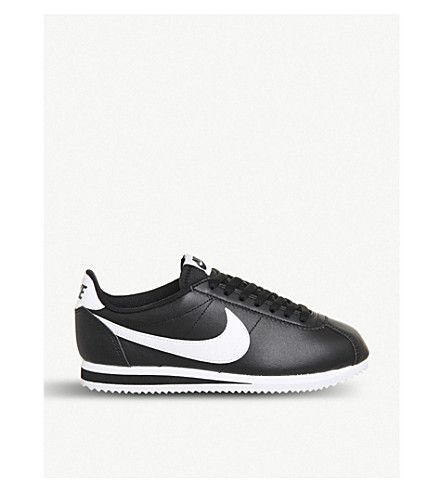 NIKE Classic Cortez OG trainers (Black grey white