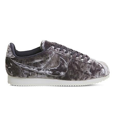 NIKE Nike Classic Cortez OG velvet trainers (Plum+fog+velvet+lux