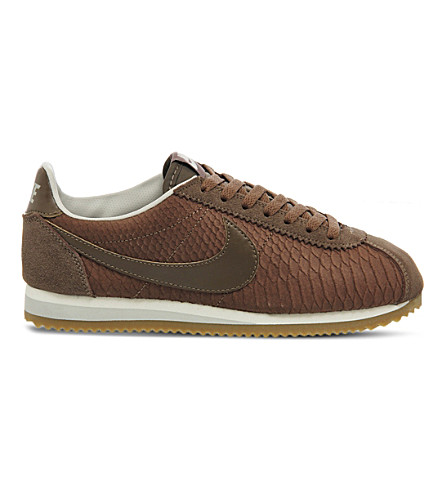 NIKE Classic Cortez OG reptile-effect trainers