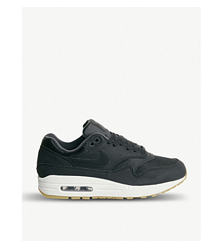 Air Max 1 mixed leather trainers(726-10036-2014406634)
