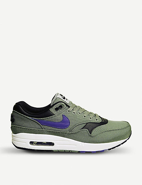 Nike Air Max 1 Essential Trainers Mens Trainers Shop Mens Trainers COLOUR-purple/multi
