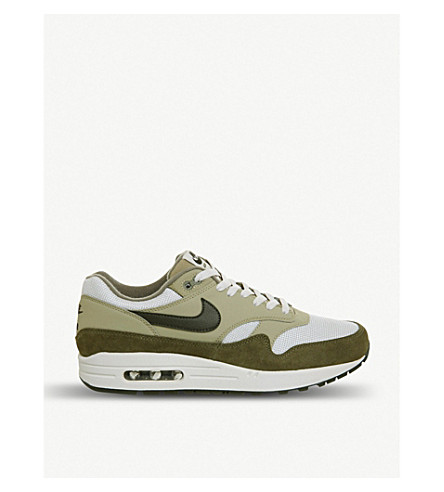 Air Max 1 mixed leather trainers(726-10036-2014467068)