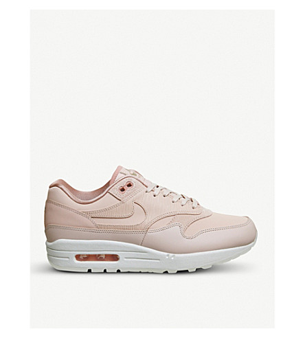 NIKE Air Max 1 low-top trainers (Particle+beige