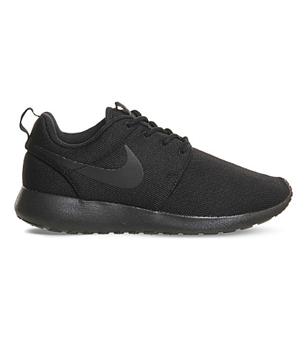 NIKE Roshe Run sneakers (Black black