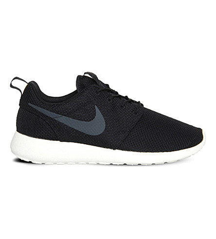 NIKE Roshe Run trainers (Black+anth+sail
