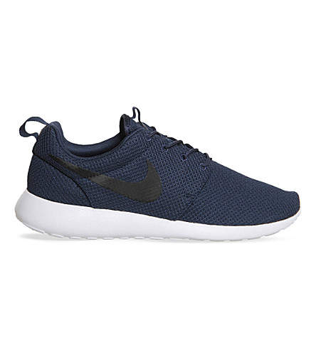 NIKE Roshe run trainers (Midnight+navy