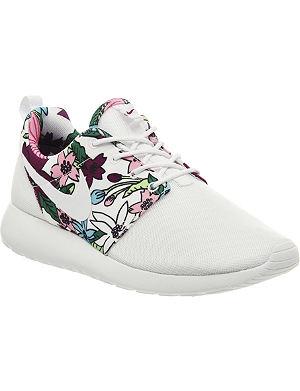 NIKE Aloha Roshe Run floral-print trainers