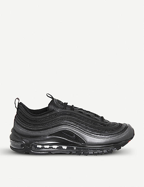 NIKE Air Max 97 faux-leather trainers