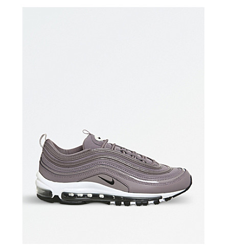NIKE Air Max 97 leather and mesh trainers (Taupe+grey+bone