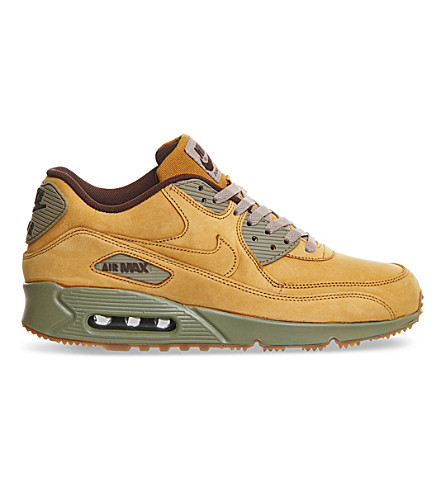 NIKE Air Max 90 leather trainers (Flax winter prm