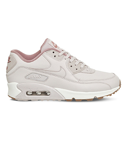 NIKE Air Max 90 Pinnacle leather trainers (Silt+red+stardust