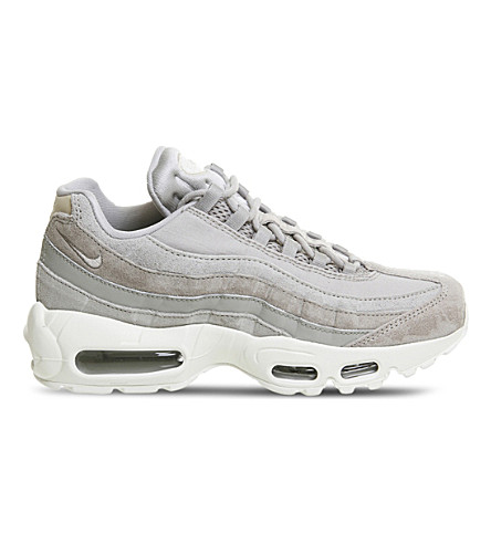 NIKE Air Max 95 leather trainers (Cobblestone+orewood