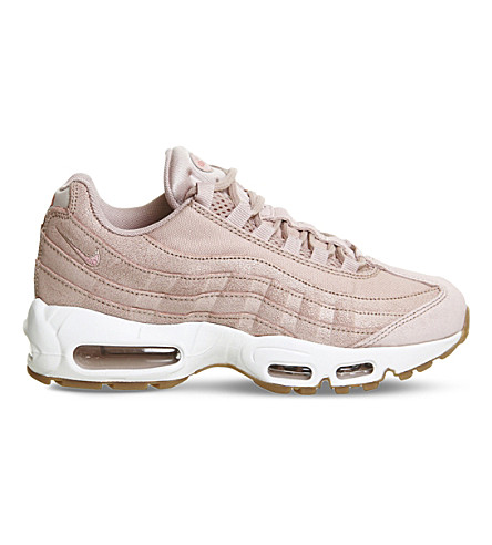 info for e9591 5afa8 NIKE Air max 95 mesh and textile trainers (Pink+oxford+prm