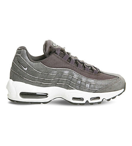 NIKE Air Max 95 gradient trainers (Midnight fog silver