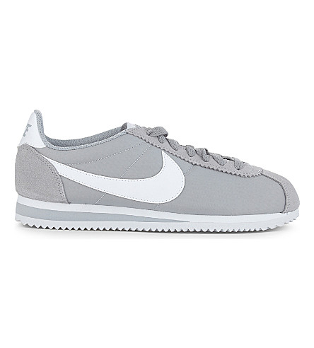 NIKE Cortez og nylon trainers (Grey