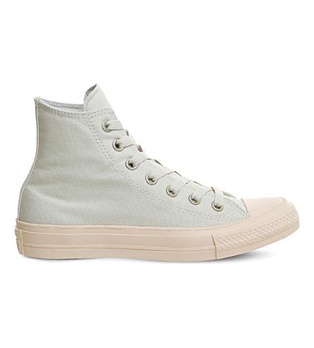 21ff1a1335b CONVERSE Lunarlon Chuck Taylor All Star II shield canvas high-top sneakers  (Buff+