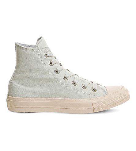 CONVERSE Lunarlon Chuck Taylor All Star II shield canvas high-top trainers (Buff+barely+orange