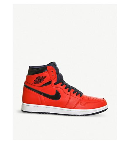 NIKE Jordan Air Jordan leather trainers (Light crimson blue