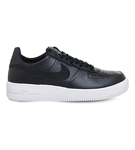 NIKE Air Force 1 Ultra leather trainers