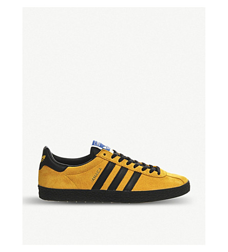 ADIDAS Jamaica Island Series suede trainers (Bold gold core black