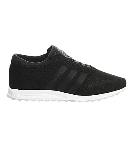 ADIDAS Los Angeles mesh sneakers (Black+white+reflecti