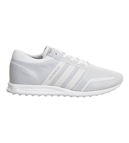 ADIDAS Los Angeles trainers (Black+white+reflecti