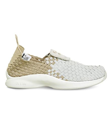 NIKE Air woven trainers (Linen+light+bone