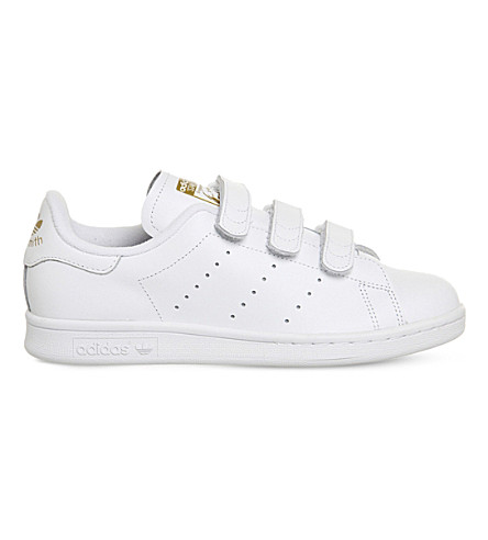 ADIDAS Stan Smith CF leather trainers (White white