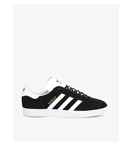 ADIDAS Gazelle suede sneakers (Core+black+white
