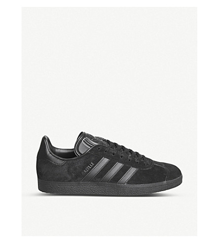 ADIDAS Gazelle suede trainers (Core+black
