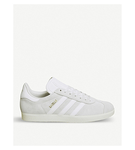 ADIDAS Gazelle suede trainers (Crystal+white