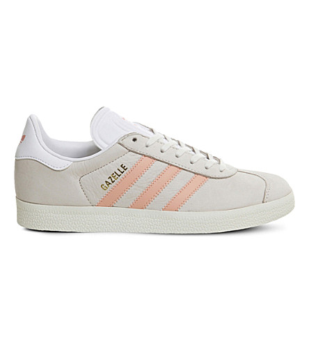 ADIDAS Gazelle suede trainers (White+still+breeze