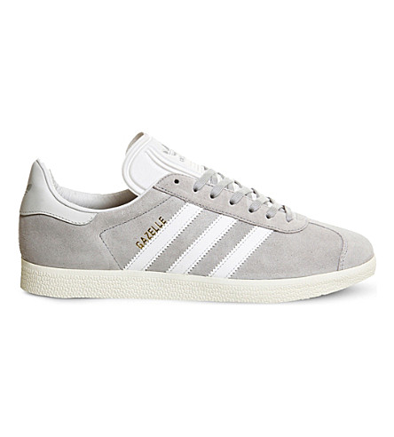 ADIDAS Gazelle suede trainers (Clear onix white