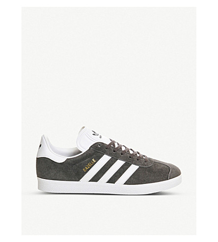 ADIDAS Gazelle suede trainers (Solid+grey+white