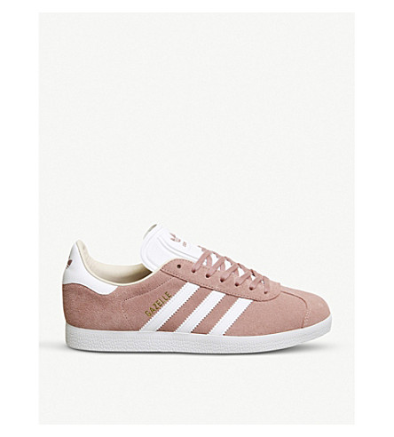 ADIDAS Gazelle suede trainers (Ash pearl white