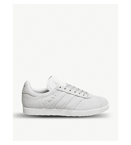 ADIDAS Gazelle suede trainers (St+grey+two