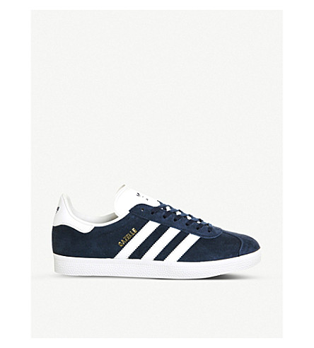 ADIDAS Gazelle suede trainers (Navy+white