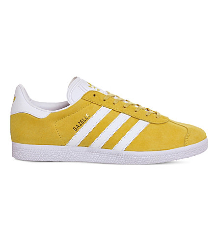 ADIDAS Gazelle suede sneakers (Eqt yellow white