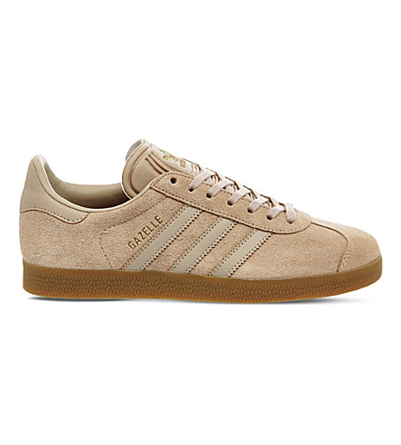 ADIDAS Gazelle suede trainers (Clay+brown+gum