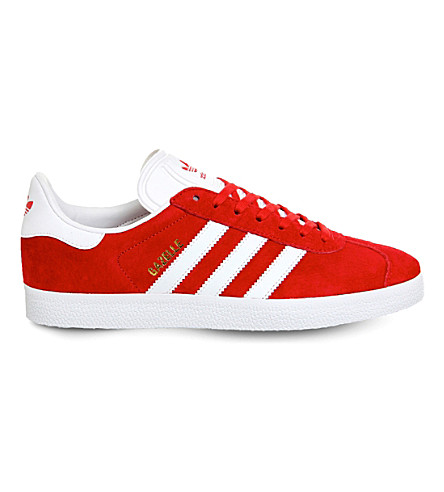 ADIDAS Gazelle suede trainers (Scarlet white