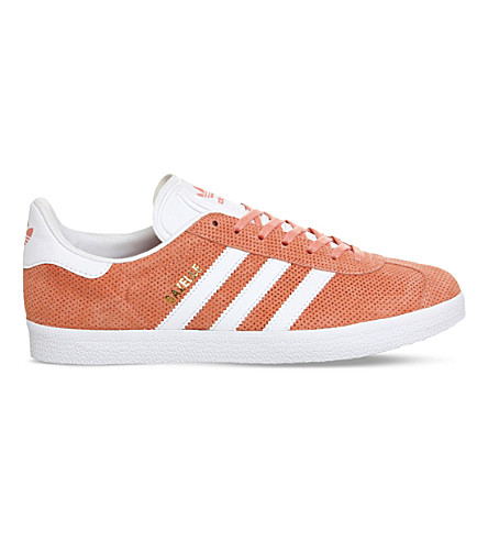 ADIDAS Gazelle suede trainers (Sun glow white