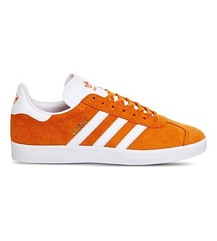 ADIDAS Gazelle suede trainers (Unity orange white