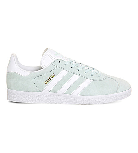 ADIDAS Gazelle suede trainers (Ice mint white