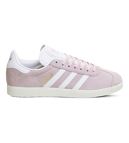 ADIDAS Gazelle suede trainers (Wonder+pink+gold