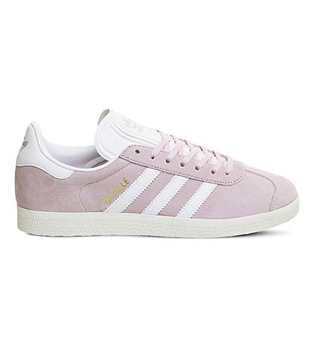 ADIDAS Gazelle suede trainers (Wonder pink gold