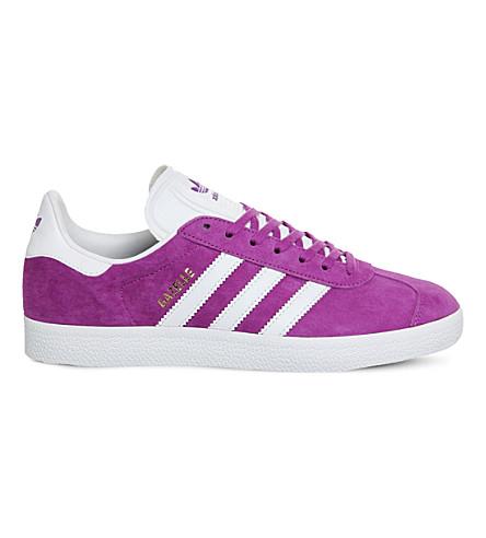 ADIDAS Gazelle suede sneakers (Shock purple white
