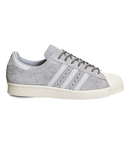 ADIDAS Superstar 80s suede trainers