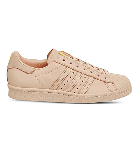 ADIDAS Superstar 80s leather trainers (Vapour+pink