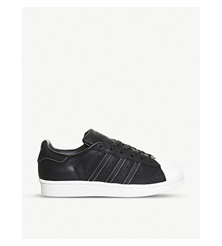 ADIDAS Superstar RT leather trainers (Core black leather